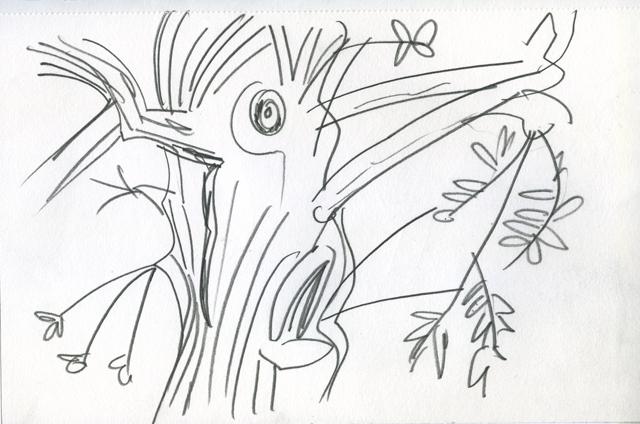 Tree, Pluckley, Kent